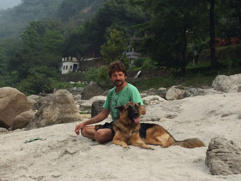 Me & a friend, Rishikesh, India