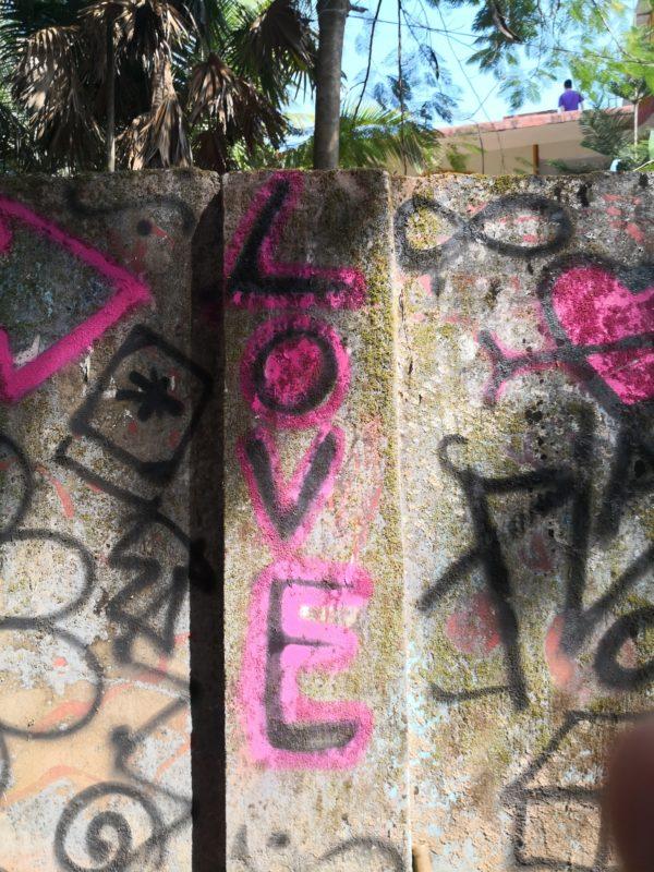 Goa street art, India