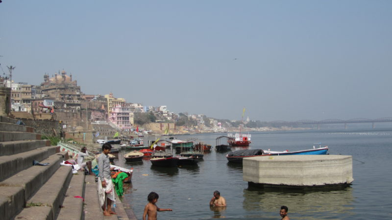Bathing in Ganga, Varanasi, India
